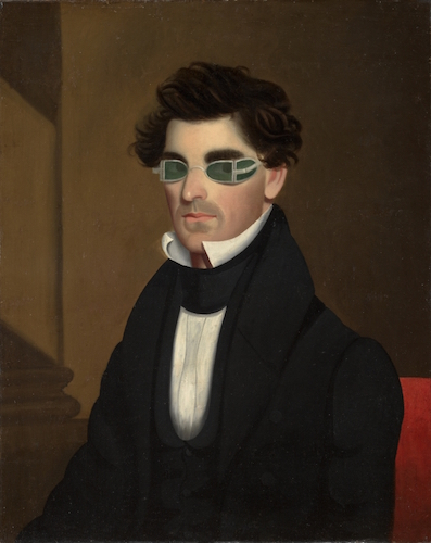 I always picture Mr. Darcy wearing these glasses, preferably also with the popped collar for maximum d-baggery.