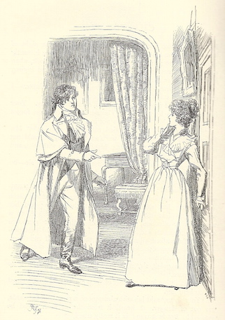 I am not altogether out of hopes, in some time, to suffer Mr. Darcy in my company, without the apprehensions I am yet under of his teeth or his claws. - Elizabeth Bennet