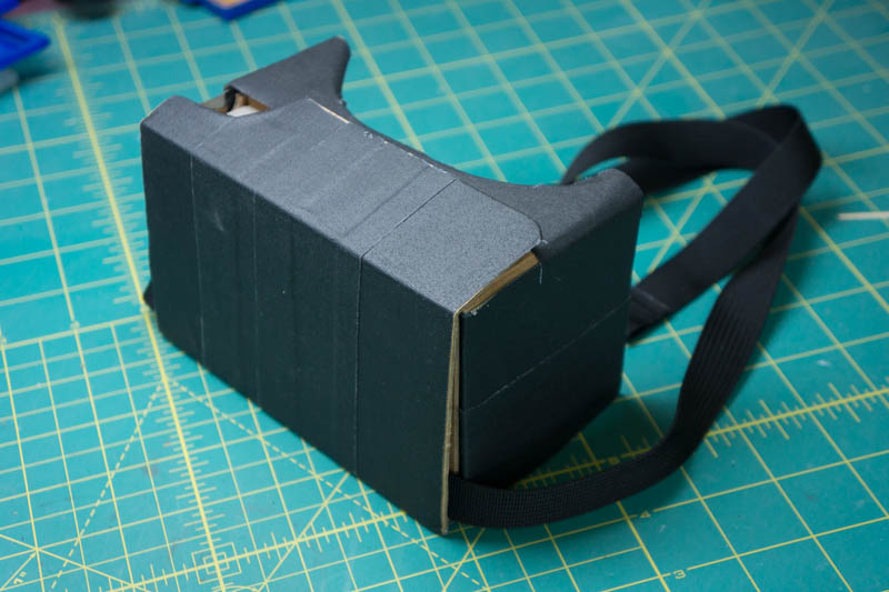 ProTip: Cardboard + Gaffers tape is basically as good as an Oculus Rift.