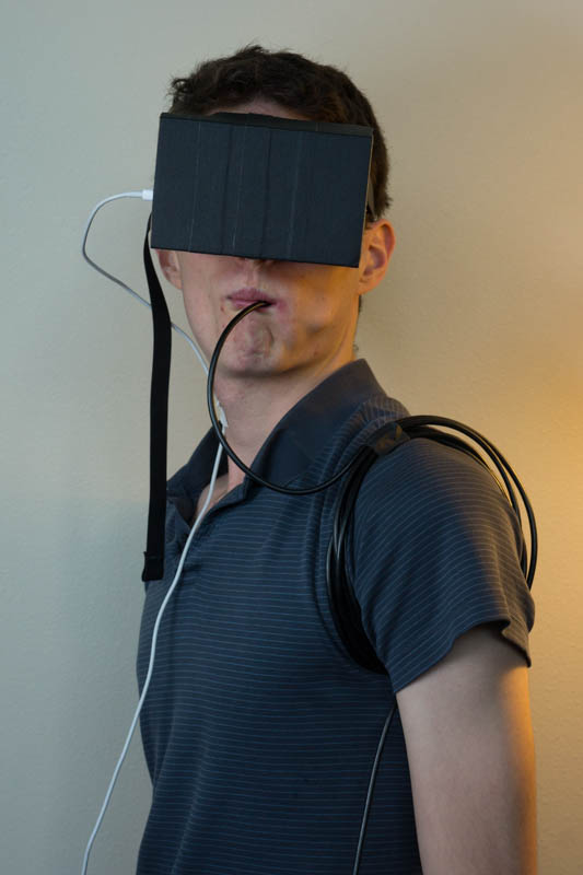 After he choked to death, at least Matt Bierner's friends and family could take solace in the fact that he died doing what he loved: sticking cameras into his body while wearing a VR headset