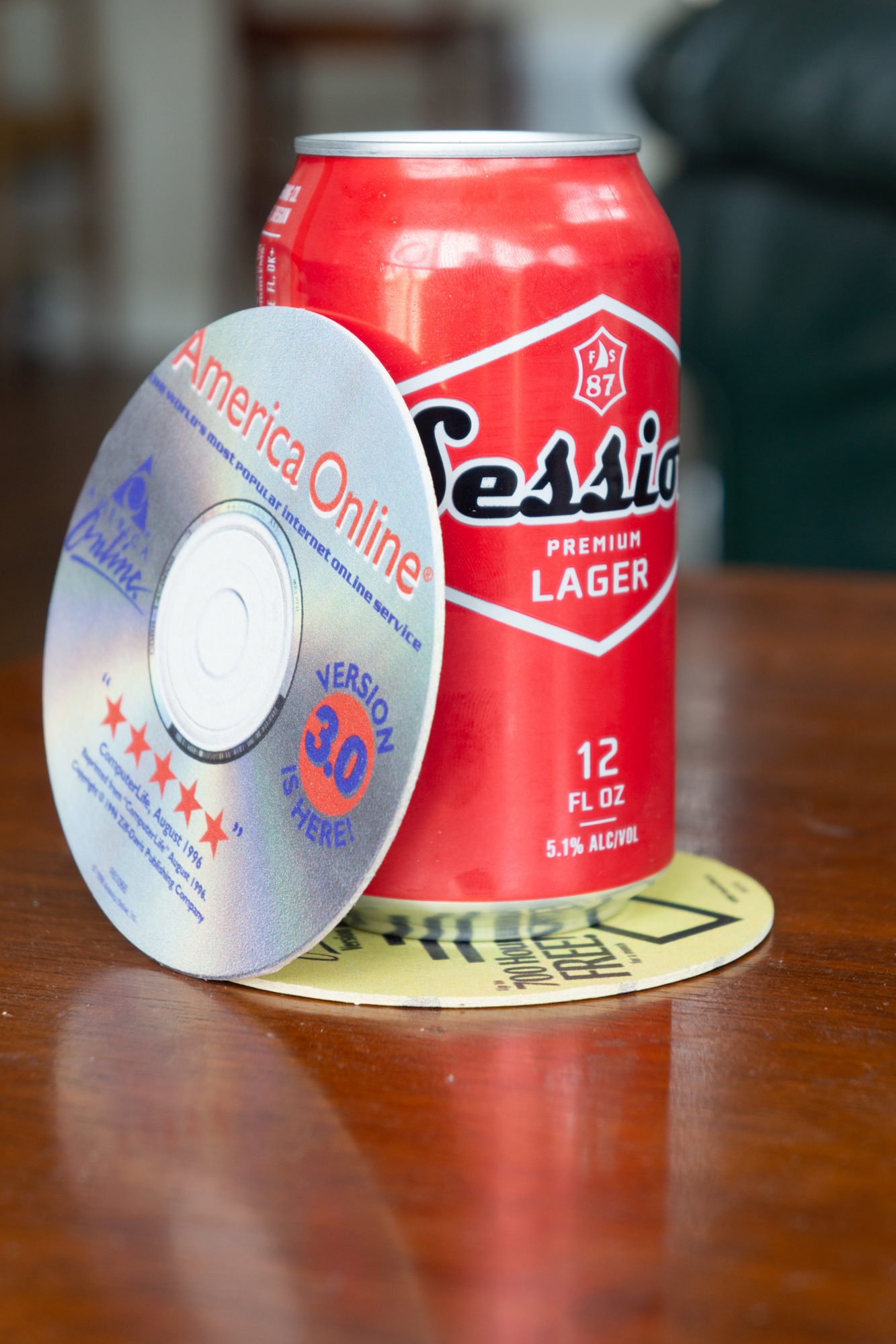 AOL Disk Coasters